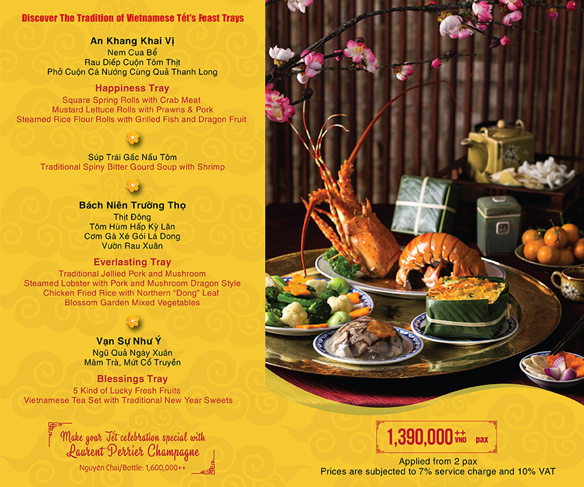 Menu Promotion Tết