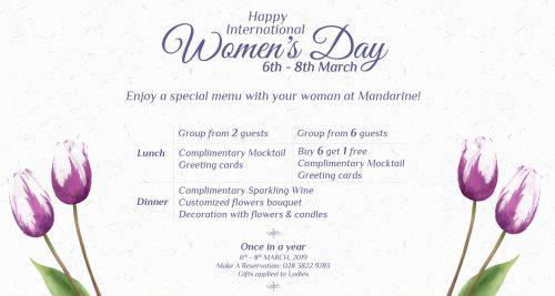 Mandarine Women Day