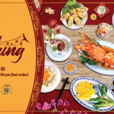 Sweet Song of Spring menu